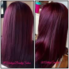 rich cherry hair colour beautiful rich eggplant purple hair hair pinterest