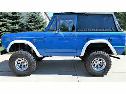 classic ford bronco for sale on classiccars com 138 available