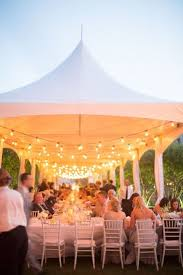 outdoor party tent lighting 5 ways and 125 exles to decorate your wedding tent happywedd