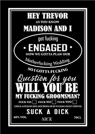 face groomsmen liquor label icustomlabel