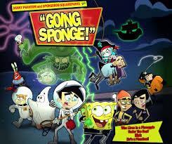 danny phantom and spongebob squarepants by xeternalflamebryx on