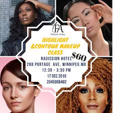 Makeup And Hair Classes Fa Beauty Class Foundation Matching Highlight And Contour Class