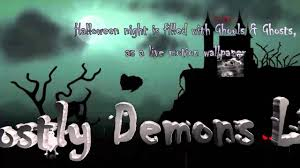 live halloween wallpaper halloween ghostly demons live wallpaper youtube