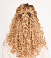 curly hair updos step by step 9 easy on the go hairstyles for naturally curly hair byrdie au
