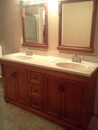 Foremost Bath Vanity Foremost Naples 60 In W Bath Vanity Cabinet Only In Warm Cinnamon