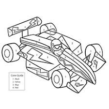25 free printable cars coloring pages