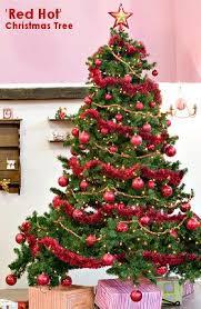 christmas tree themes red hot theme christmas tree christmas tree themes color