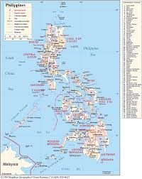 Phillipines Map Philippines 101 Geography Bakitwhy