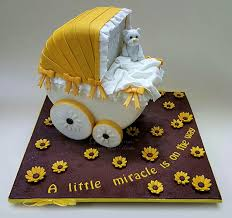 baby carriage cake baby shower cakes archives d cake creations