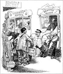 Iron Curtain Political Cartoon This Site Talks About The Truman Doctrine Marshall Plan It Also