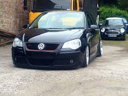 volkswagen polo black modified the world u0027s best photos of 9n3 and modified flickr hive mind