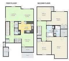 large house blueprints house design floor plan plans house floor storey two story