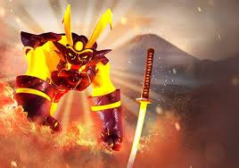 samouraï siège samurai siege flaming with power homura the blazing