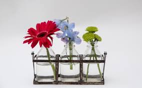 Bud Vase Arrangements Bouquet Diy How To Make Floral Arrangements With Supermarket