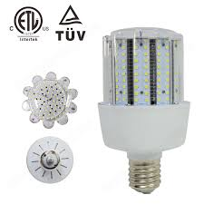 etl tuv saa listed pc cover led corn cob light bulbs