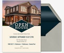 open house invitations open house free online invitations