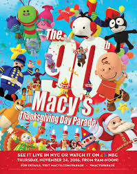 the 90th annual macy s thanksgiving day parade 2016 macy s