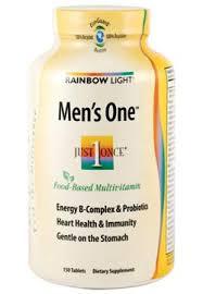 rainbow light vitamins mens rainbow light mens one multivitamin 150 tablets product shot 23