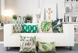 home decor free shipping free shipping gift rainforest tropical monstera banana leaf protea
