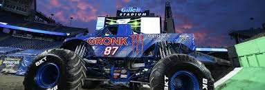 monster truck jam nj gronk meets monster jam monster jam
