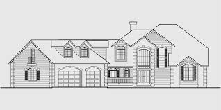 country luxury house plan master on the main bonus 3 car garage