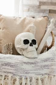halloween linens and bone halloween decorations