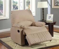 microfiber glider recliner chair