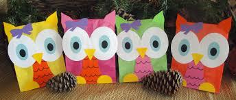 halloween loot bag ideas colorful hoot owl treat sacks woodland forest bird theme