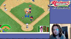 gba let u0027s play backyard baseball episode 1 youtube
