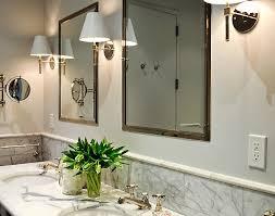 Bathroom Sconces Polished Nickel Inset Medicine Cabinets Traditional Bathroom Urban Electric Co