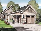 Attached Carports Garage Plans With Attached Carport At Familyhomeplans Com