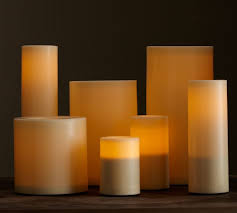 flameless outdoor candle ivory pottery barn