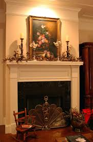 Candles For Fireplace Decor by Tall Flameless Pillar Candles Glancing Framed Mirror In Small