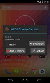 screen grab on android how to screen record using the android 4 4 kitkat screen capture