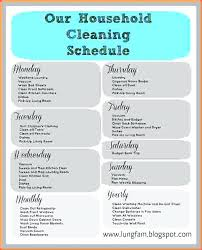 cleaning report template daily routine plan cleaning plan daily routine planner excel