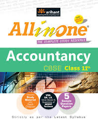 all in one cbse accountancy class 11 1st edition buy all in