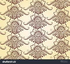 indian ornament henna style luxury oriental stock vector 330840218