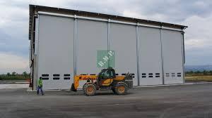 porte per capannoni porta autoriparante