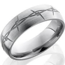 titanium wedding rings review titanium barbwire ring out of your cage titanium buzz