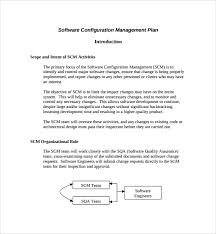 sample configuration management plan template 9 free documents