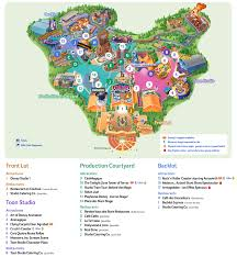 Printable Map Disneyland Paris Park | map of disneyland paris and walt disney studios