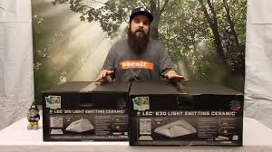 lec 630 grow light sun system lec 315 630 light review youtube