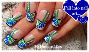 floral spring nail art collaboration with lenysea long nails