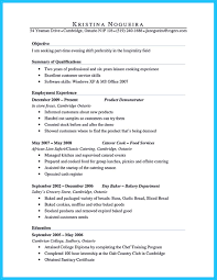 Startup Resume Example by Excellent Culinary Resume Samples To Help You Approved