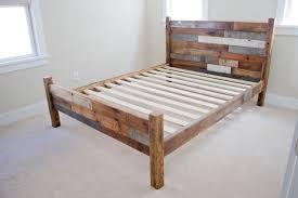 Platform Bed No Headboard Enticing Platform Bed Without Headboard Wooden Beds Grey Big Bed