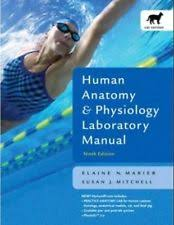 Human Anatomy And Physiology Marieb 5th Edition Human Anatomy And Physiology Lab Manual Ebay