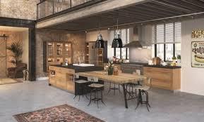 ilot central cuisine fly cuisine ilot table cuisine avec ilot central with cuisine