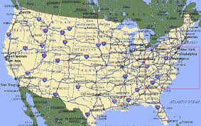 southeast us road map preinterstate us highway system map usa mappery highway maps