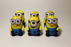 edible minions fondant minion cake toppers 6 pack large size