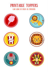 baby u0027s first year free printable circus themed baby month signs